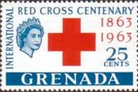 Grenada 1963 Red Cross Centenary SG 213 Fine Mint