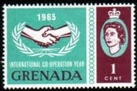 Grenada 1965 International Co-operation Year SG 223 Fine Mint