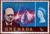 Grenada 1966 Churchill SG 225 Fine Mint