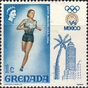 Grenada 1968 Olympic Games Mexico SG 300 Fine Mint