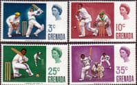 Grenada 1969 Cricket Set Fine Mint