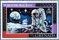 Grenada 1969 First Man on the Moon SG 348 Fine Mint