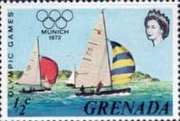 Grenada 1972 Olympic Games SG 522 Fine Mint