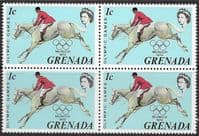Grenada 1972 Olympic Games SG 523 Fine Mint Block of 4