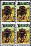 Grenada 1973 Christmas SG 588 Fine Mint Block of 4