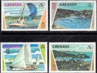 Grenada 1973 Yachting Set Fine Mint
