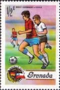 Grenada 1974 World Cup Football Championship SG 619  Fine Mint