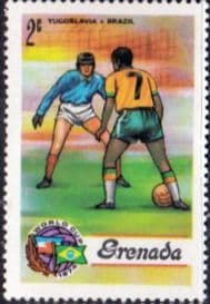 Grenada 1974 World Cup Football Championship SG 621  Fine Mint