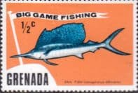 Grenada 1975 Big Game Fishing SG 669 Fine Mint