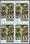 Grenada 1975 Easter SG 705 Fine Mint Block of 4