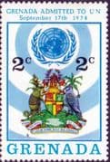 Grenada 1975  Grenada's Admission to the U.N. SG 689 Fine Mint