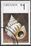 Grenada 1975  Sea Shells SG 727 Fine Used