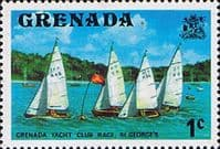 Grenada 1975 SG 650 Yacht Club Race Fine Mint