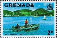 Grenada 1975 SG 651 The Carenage Taxi Fine Mint
