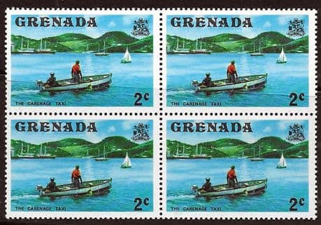 Postage Stamps Stamp Grenada 1975 SG 651 The Carenage Taxi Fine Mint Scott 584
