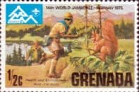 Grenada 1975  World Scout Jamboree SG 713 Fine Mint
