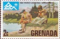 Grenada 1975  World Scout Jamboree SG 715 Fine Mint