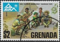 Grenada 1975  World Scout Jamboree SG 719 Fine Used