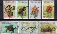 Grenada 1976 Flora and Fauna Set Fine Used