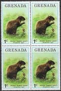 Grenada 1976 Flora and Fauna SG 762 Fine Mint Block of 4