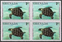 Grenada 1976 Flora and Fauna SG 763 Fine Mint Block of 4
