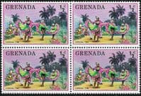 Grenada 1976 Tourism SG 769 Fine Mint Block of 4