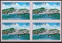 Grenada 1976 Tourism SG 771 Fine Mint Block of 4