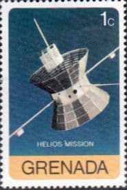 Grenada 1976 Viking and Helios Space Missions SG 826 Fine Mint