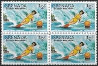 Grenada 1977 Easter SG 867 Fine Mint Block of 4