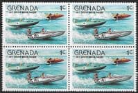 Grenada 1977 Easter SG 868 Fine Mint Block of 4