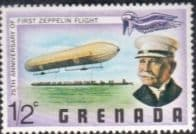 Grenada 1978 Zeppelin Flight SG 907 Fine Mint