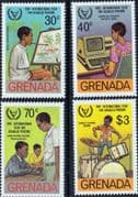 Grenada 1982 International Year for the Disabled Set Issue Fine Mint