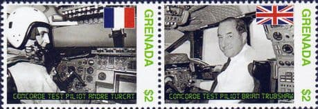 Stamps Stamp Grenada 1975 SG 1216 Trains of the World Fine Mint Scott 1124