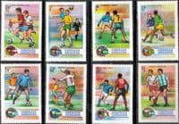 Grenada Grenadines 1974 World Cup Football Set Fine Mint