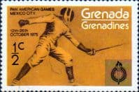Grenada Grenadines 1975 Pan-American Games SG 103 Fine Mint