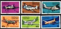 Grenada Grenadines 1976 Aircraft Set Fine Used