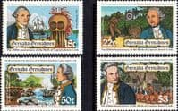 Grenada Grenadines 1978 Captain Cook Set Fine Mint