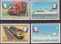 Grenada Grenadines 1979 Sir Rowland Hill Set Fine Mint