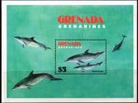 Grenada Grenadines 1982 Save the Whale Miniature Sheet Fine Mint