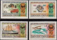 Grenada Grenadines 1982 Universal Postal Union Set Fine Mint