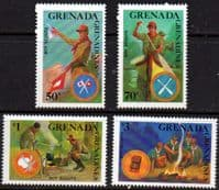 Grenada Grenadines 1988 World Scout Jamboree Set Fine Mint