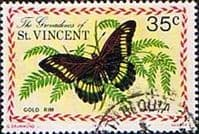Grenadines of St Vincent 1975 Butterflies SG 63 Fine Used