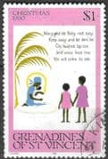 Grenadines of St Vincent 1980 Christmas SG 182 Fine Used