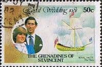 Grenadines of St Vincent 1981 Royal Wedding SG 195 Ship The Mary Fine Used