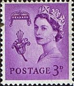 Guernsey 1958 Queen Elizabeth SG 7p Phosphor Band Fine Mint