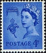 Guernsey 1958 Queen Elizabeth SG 8p Phosphor Band Fine Mint