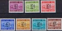 Guernsey 1969 Post Due Set Fine Mint