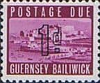 Guernsey 1969 Post Due SG D 1 Fine Mint
