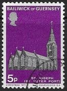 Guernsey 1971 Christmas SG 65 Fine Used