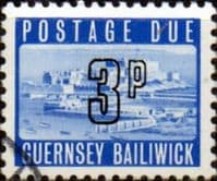 Guernsey 1971 Decimal Post Due SG D 11 Fine Used